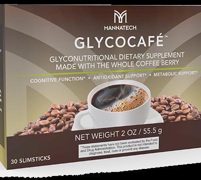 GlycoCafe bestellen - koffie Mannatech - PlantaardigeVoedingssupplementen.nl