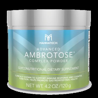 Ambrotose 120 gr. Advanced - Mannatech - PlantaardigeVoedingssupplementen.nl